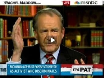 Pat Buchanan Thinks White Men Deserve So Much More