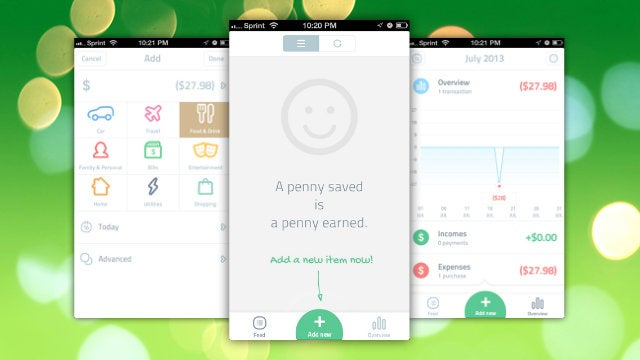 Spendee Tracks Your Expenses with a Gorgeous, Frictionless Interface