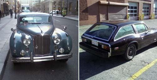 Jaguar Mark IX, Jensen GT Down On The Boston Street