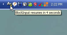 BlockInput Locks Down Your Mouse and Keyboard