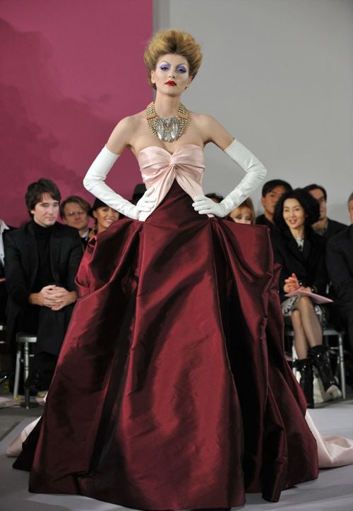 Dior Haute Couture: For The Deranged Landed Gentlewoman In You
