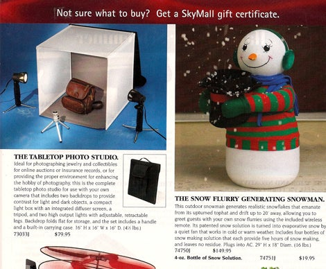 SkyMall: Shopping The Friendly Skies For Pointless Products