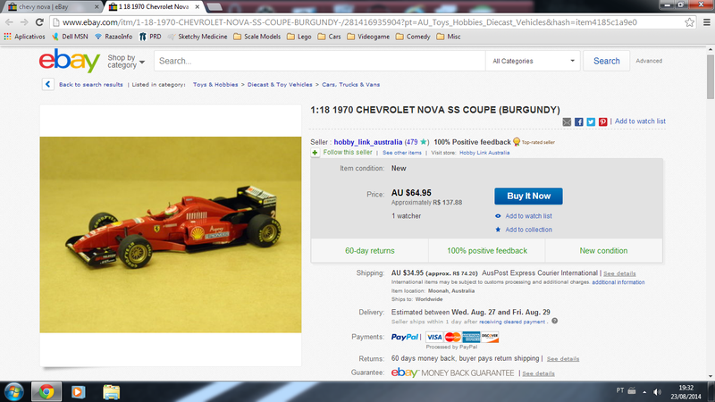 Could this be the wrongest diecast ad on eBay?