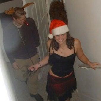 "Congressional Candidate Krystal Ball's ""Sexy Santa"" Problem"