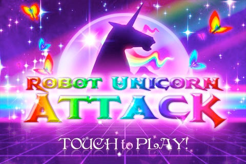 Robot Unicorn Attack Is the Pinkest iPhone App You Can Get Away With