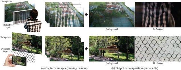 Di adiós a los reflejos en tus fotos con este algoritmo de Google y MIT