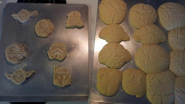 What Really Happens When You Use Those Fancy Star Wars Cookie Cutters