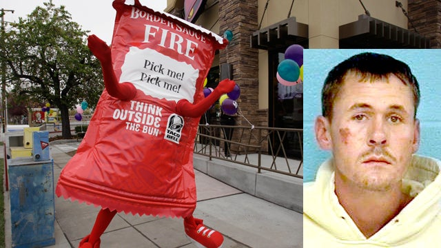 Guy Allegedly Pulls Gun on Taco Bell Worker for Forgetting 'Border Sauce'