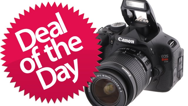 This Canon Rebel T3i Is Your Grab-It-Quick Deal of the Day