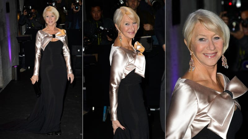 Helen Mirren and Her Beautiful, Beautiful Hair Step Out