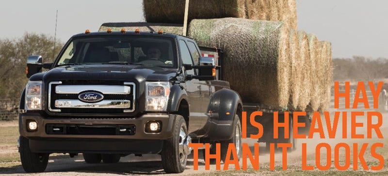 2015 Ford Power Stroke Diesel Can Move 40,000 Pounds