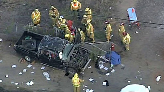 Dad and Teen Son Die in Separate Freeway Crashes, Hours Apart