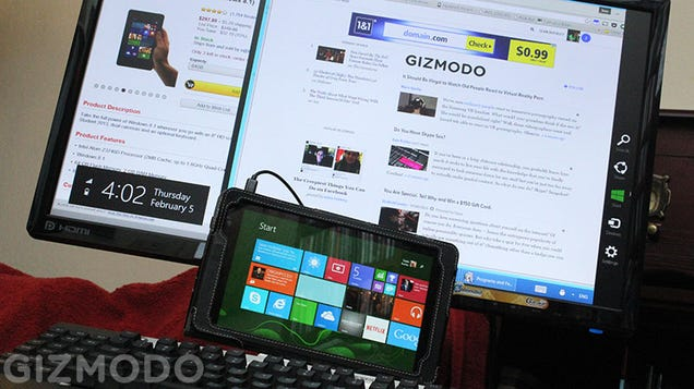 Can a Cheap Windows Tablet Replace Your Desktop?