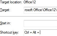 Create a Keyboard Shortcut to Your Open Outlook Inbox
