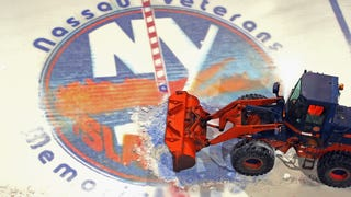 Photos: Nassau Coliseum Ice Removed For The Final Time