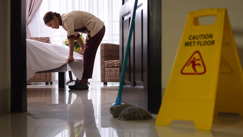 Watch Out, There's Microscopic Poop All Over Your Hotel Room