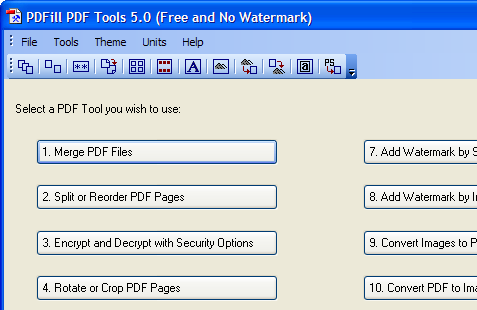 Edit PDF files for free with PDFill