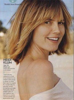 Heidi Without Makeup; Posh To Outfit Beyoncé?