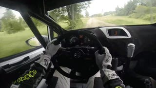 Holy Crap This Rally Onboard Is So Fast It Can't Be Real