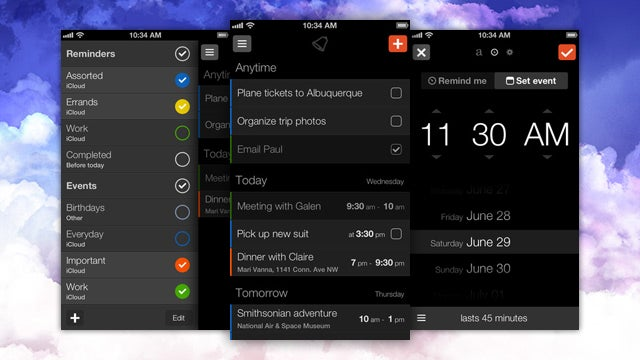 Ding Combines Reminders and Events into a Good-Looking Interface