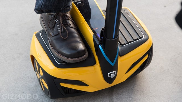 InMotion SCV Hands On: A Cheaper, Lighter Segway That's a Lot of Fun