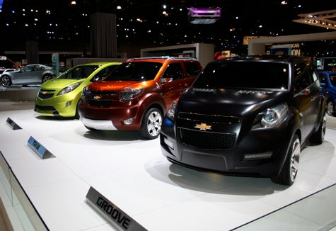New York Auto Show: Chevrolet's Minicars — Which One Should They Build?
