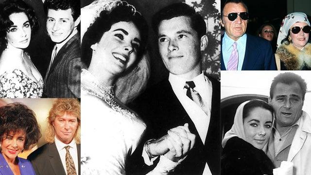 The Men In Elizabeth Taylor's Life