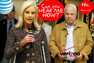 AT&T and Verizon Built Special Cell Towers at John McCain's House to Fix His Reception