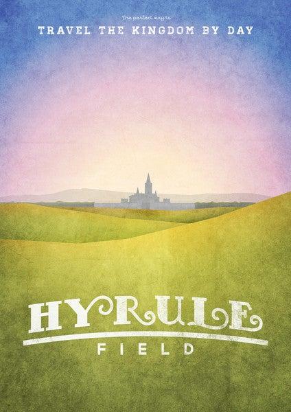 Zelda's Travel Bureau Makes Beautiful Posters