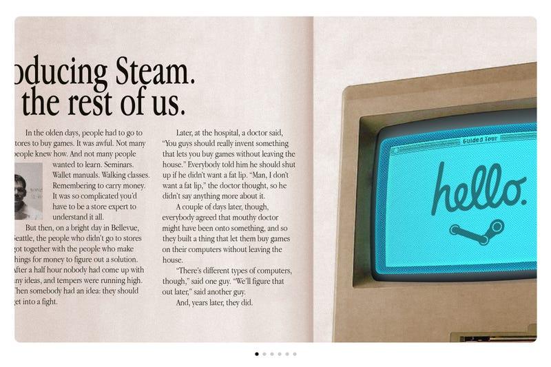 Steam Mac Ads