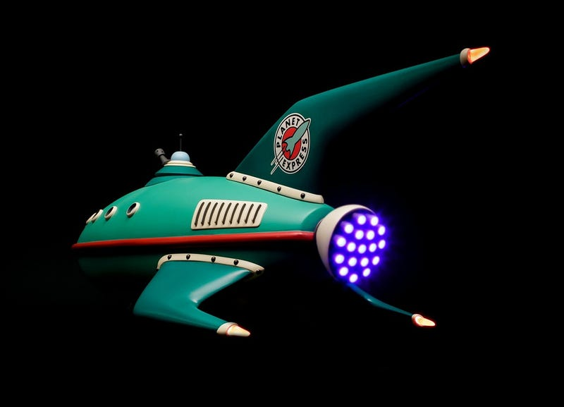 Futurama Ship Looks Like CGI, Is Actually Real Model