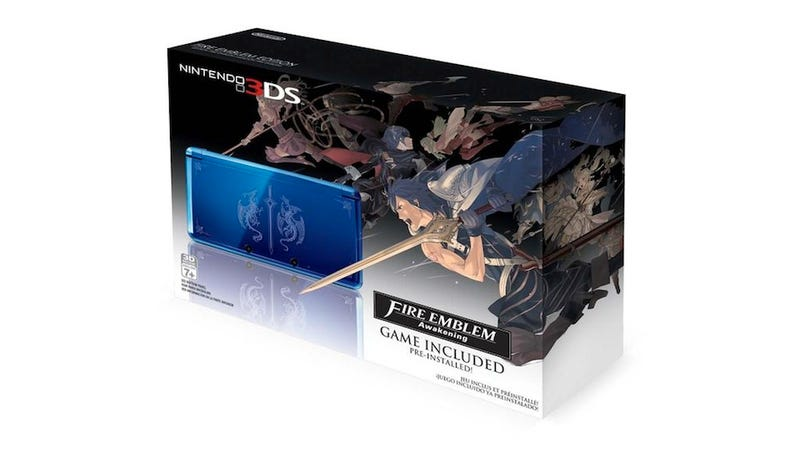 It's Too Bad This Awesome Fire Emblem-Themed 3DS Isn't An XL