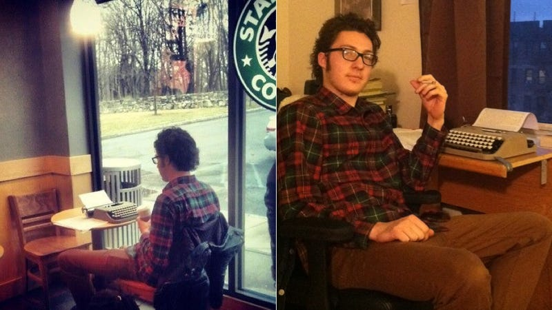Starbucks Typewriter Guy Is Here to Answer All Your Burning Questions
