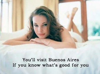 Things to Do in Buenos Aires Without Your Wife