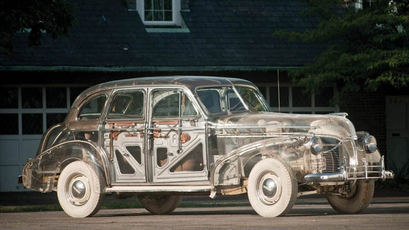 See-through 1939 Pontiac sells for $308,000