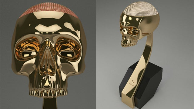 Kanye West Is Addicted to Handing Out $34K Skull Statues to His Friends