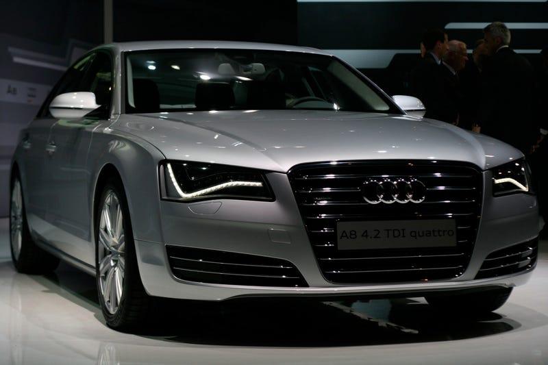 2011 Audi A8: Live Photos