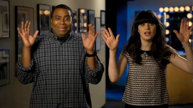 Zooey Deschanel's Bangs Star in Saturday Night Live Promos