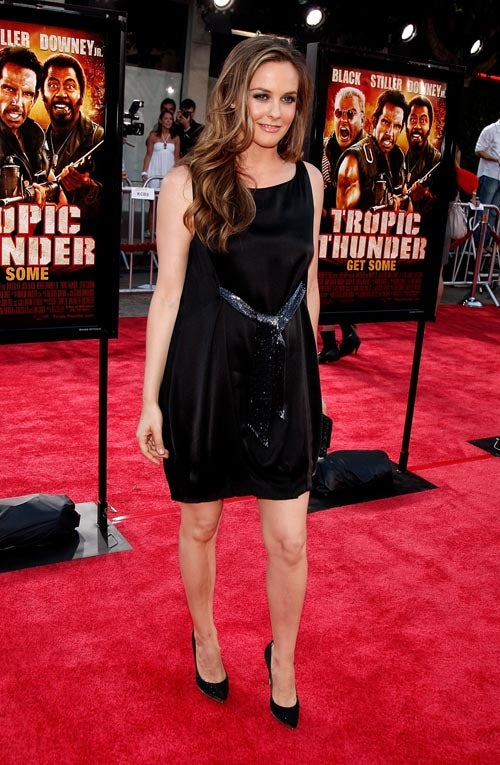 Everyone In Hollywood Hits Up Tropic Thunder Premiere, Looks Bad