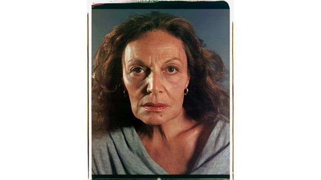 Chuck Close Photographs Diane von Furstenberg After Ski Accident