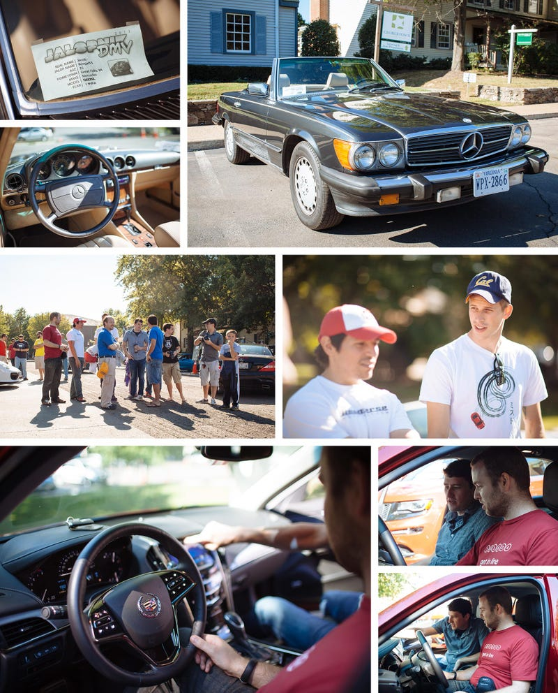 Jalopnik at Katie's Cars and Coffee (Great Falls, Virginia)