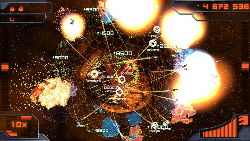 Super Stardust Delta Delivers a Shifted Perspective On the Shoot-Em Up