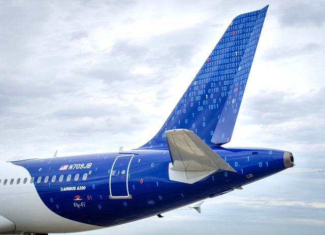 JetBlue's New Binary Livery Appeals To The Nerd In Us All