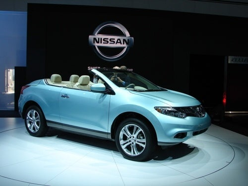 Nissan Murano CrossCabriolet Yours For Only $46,390