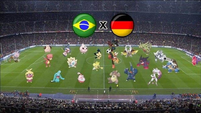 The Brazil-Germany Match, Explained Via Pokémon