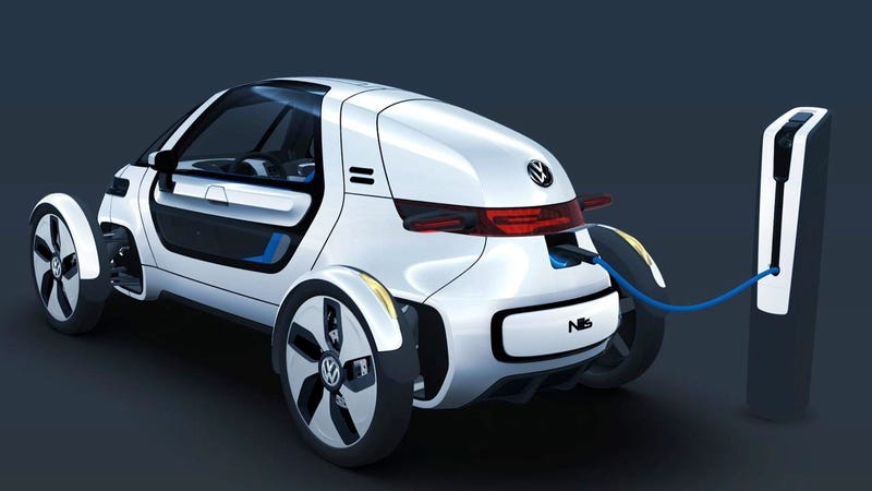 Volkswagen NILS: A slow electric F1 car for commuters