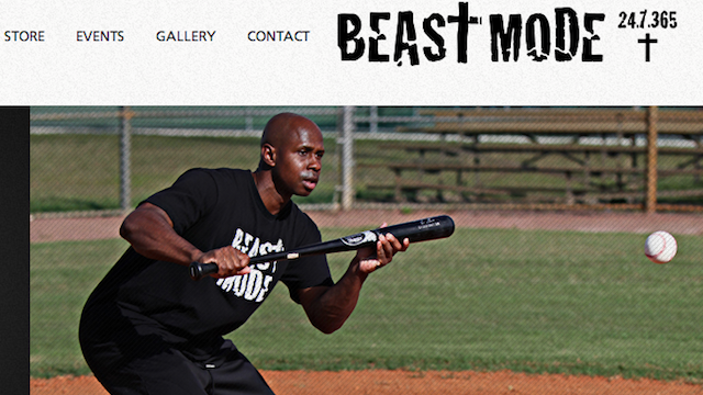 "Juan Pierre Wants You To Know That ""Beast Mode"" Is Also ""Christ Mode"""