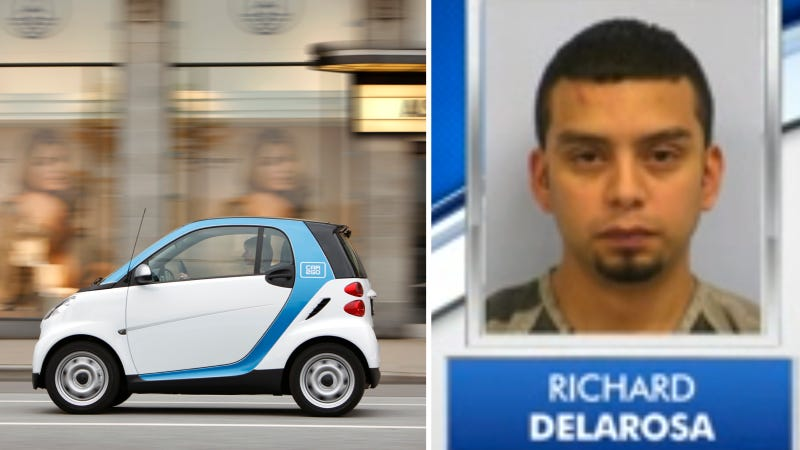 Man Leads Cops On Chase In Two Car2Go Smart Cars