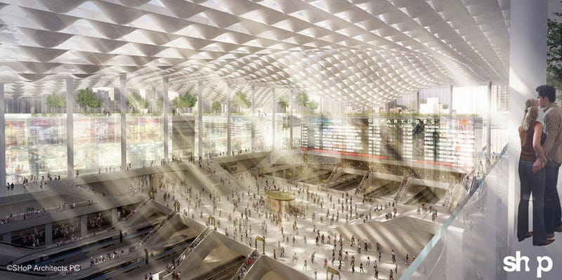 Four Glamorous New Penn Station Designs (That We Shouldn't Build Yet)