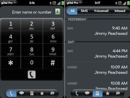 Palm Adds Unofficial Google Voice Client to App Catalog